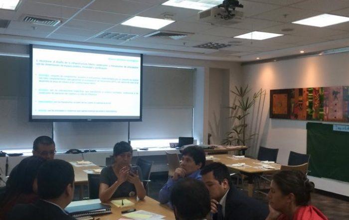Imagen 1.Encuentros de trabajo realizados