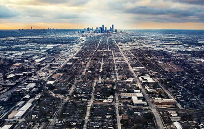 El desarrollo urbano rampante y desregulado genero inundaciones en Houston